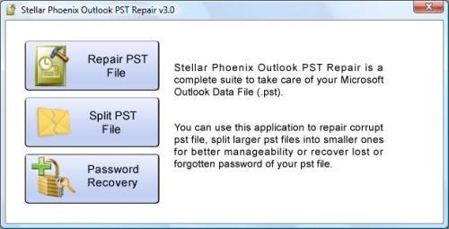 Stellar Outlook PST Repair